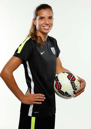 Great coaching helped Tobin Heath develop world class talent, now she's returning the favor